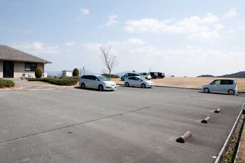20台まで収容可能の駐車スペース