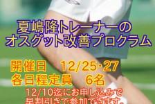 夏嶋先生12月